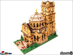 Scherpenheuvel (Aliencat!) Tags: castle classic church lego dome ccc scherpenheuvel classiccastle cccvii