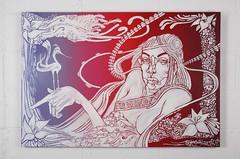 Shades of things to come (eotl archive) Tags: graffiti id exhibition canvas da shoreditch prints does aerosol dmv mental havanaclub tizer probs vapours biser nychos bomk aryz rabodiga shadesofthingstocome maverikgallery