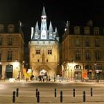 Bordeaux: Porte de Cailhau, la nuit
