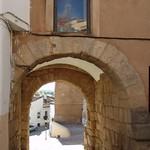 Cáceres: arco cristo interior detalle