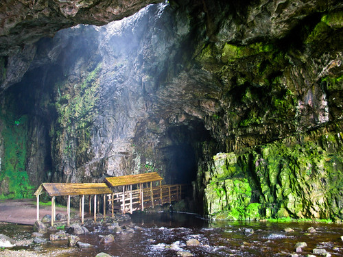 The Bridge in Smoo Cave