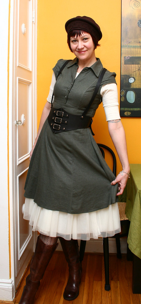 bondage Dirndl dress