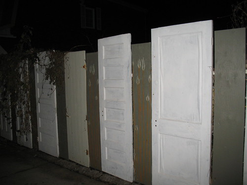 A Fence Full of Doors