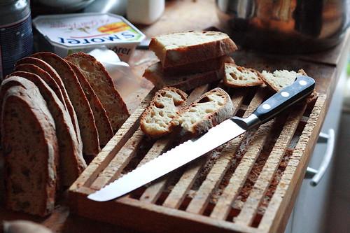 Bread. Bored