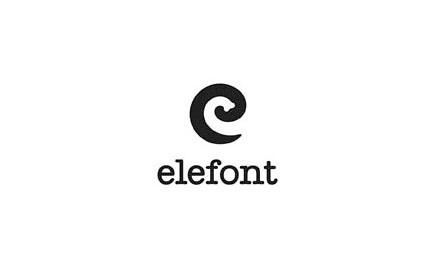Diseño logo Elefont