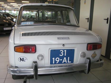 1965 Renault 8 Major. RENAULT 8 1.0 DL AUT 1965 r