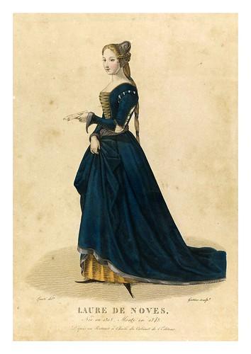 001-Laura de Noves llamada la bella Laura-Galerie Française de femmes célèbres 1827- Louis Marie Lanté