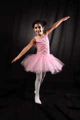 U R key, rim, back, fill light 2 me (explored) (Ghadeer Q) Tags: pink portrait ballet black girl smile kids canon children happy outfit ballerina daughter stretch explore mai step kuwait homestudio canon24105 ghadeerq