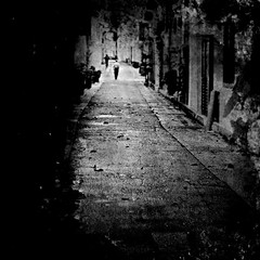 i'll never stray too far from the sidewalk (*iskandar) Tags: life reflections dark singapore raw moody grunge gritty stranger explore story arab lonely sole frontpage bnw hajilane soulfultextures
