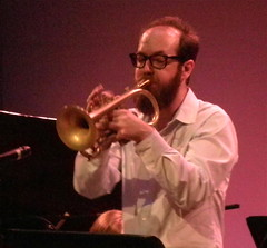 Kirk Knuffke (msnyc111) Tags: new york city nyc music live jazz topsyturvy bmcc mattwilson chrislightcap curtisfowlkes tiafuller maryhalverson jefflederer kirkknuffke vijayiver