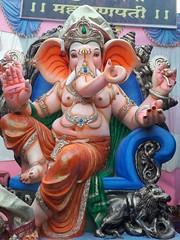 IMG-20160805-WA0011 (bhagwathi hariharan) Tags: ganpati ganpathi lordganesha god nallasopara nalasopara pooja idols