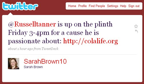 SarahBrown10Tweet
