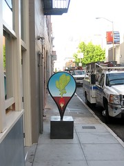(kewlio) Tags: sanfrancisco sign google pin map foundinsf alicewaters