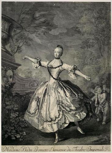 006- Madame Bodin primera bailarina del Teatro Imperial-1750