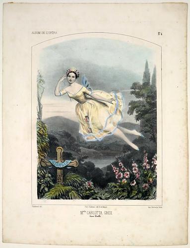 002- Carlotta Grisi en Giselle 1844