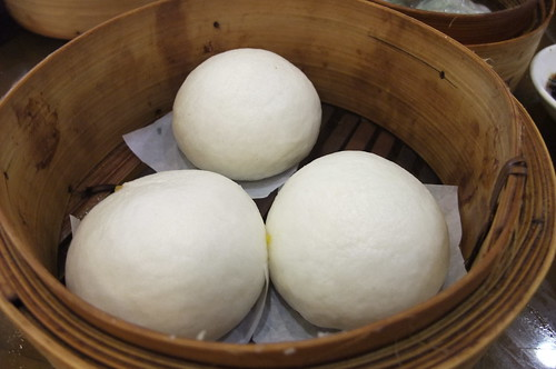 Bun with Sweet Egg Yolk Filling