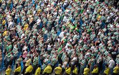 Celtic Fans (Crausby) Tags: soccer replica shirts celtic fans 2009 supporters coms mcfc eastlands cityofmanchesterstadium manchestercityfootballclub friendlyaugust8th