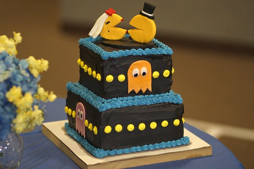 Pacman Groom's Cake