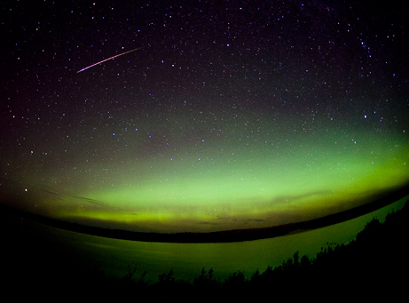 Perseid Meteor Shower - August 12, 2008