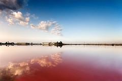Blau grana (SanchezCastillejo) Tags: sky azul sony salinas murcia nubes kdd sanpedro reflejos cokin granate a700 castillejo nd4 pinatar