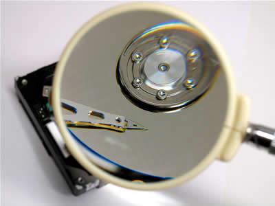Recupero dati, abrasione superfice magnetica