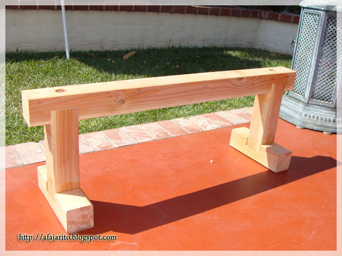 wooden weight bench plans