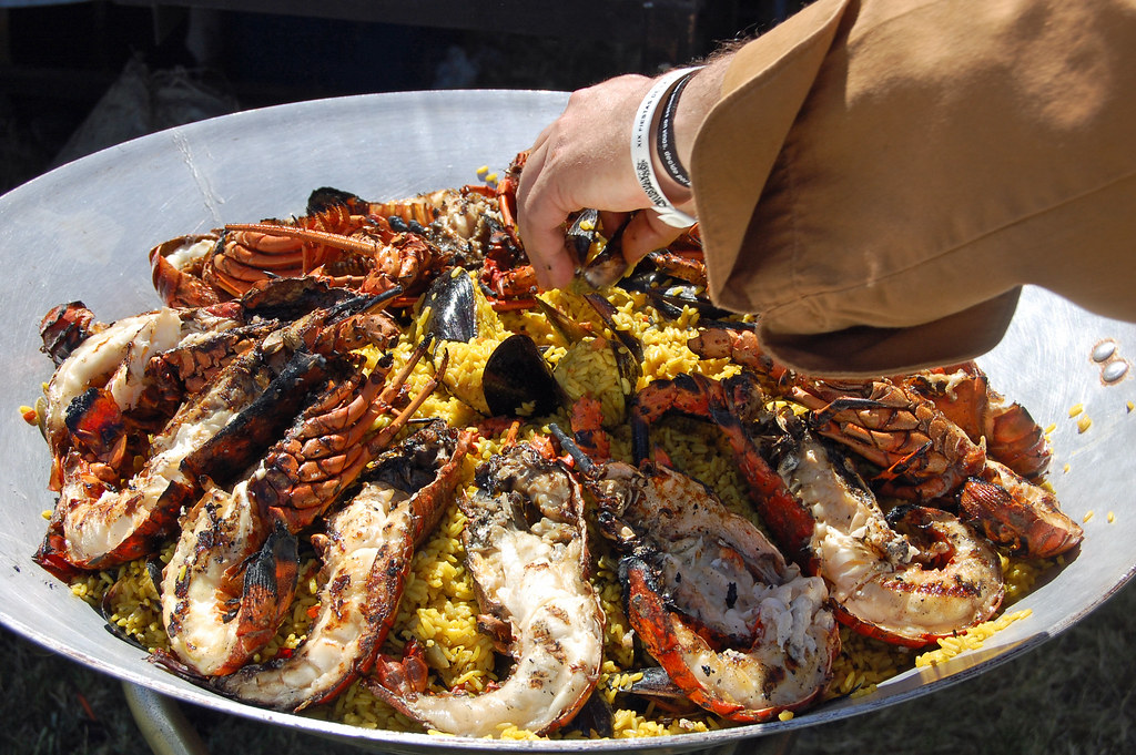 Lobster and Wine Festival-Lobster Paella
