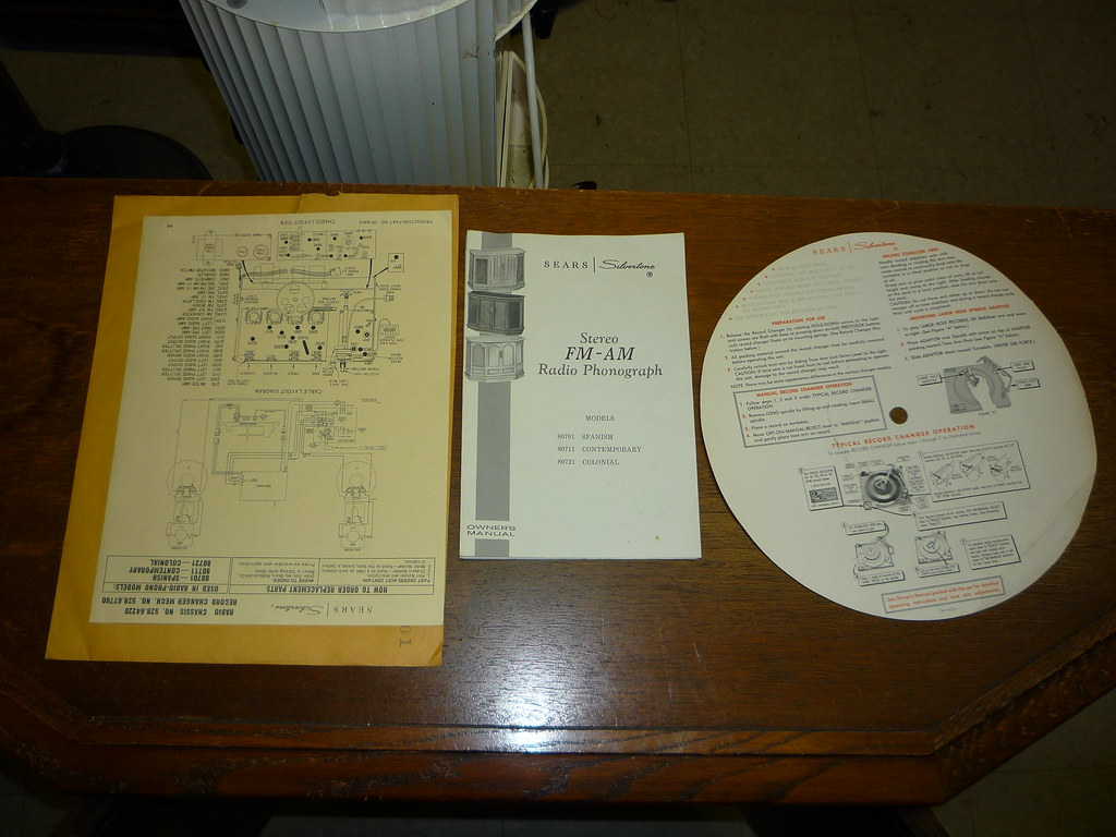 Old Seare Silvertone Console Madness Audiokarma Home Audio Vintage Wiring Diagram Img