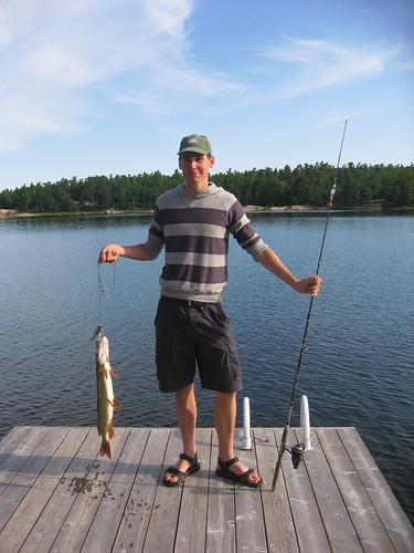 Nicho et son poisson