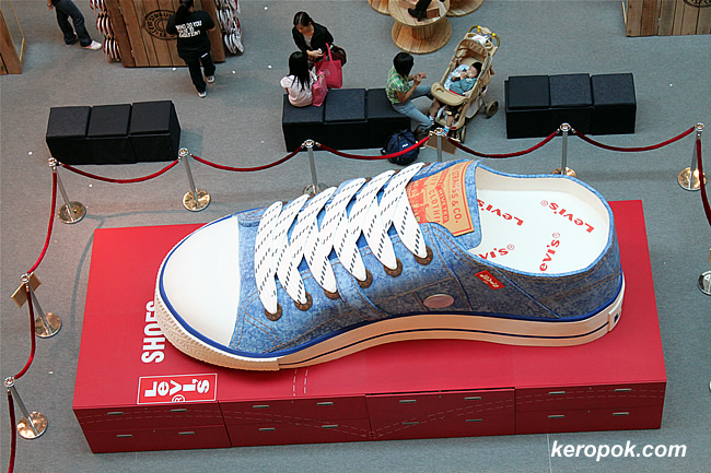 Giant Levi's Shoes