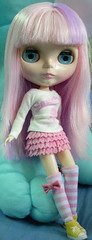 My sweet candy with mini pink skirt
