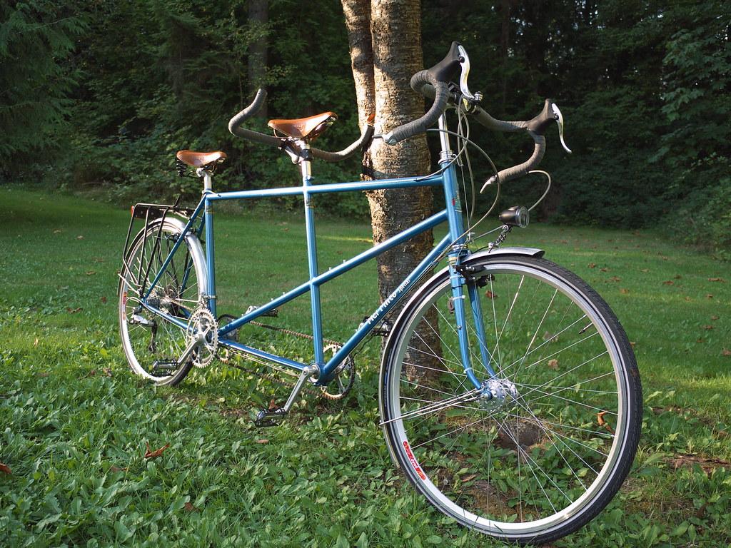 1984 Follis / Mel Pinto Touring Tandem, Rebuilt in 9/2009