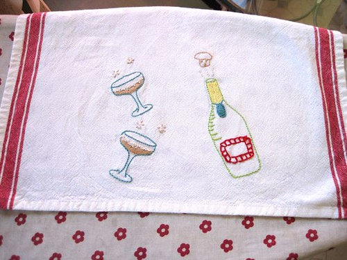 Finished Dish Towel