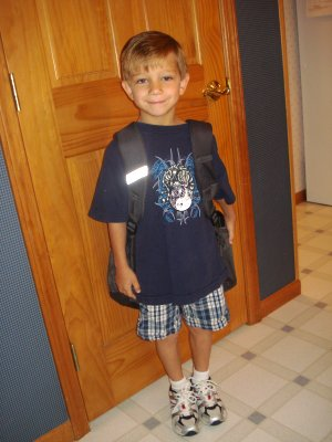 Chase First Day of School