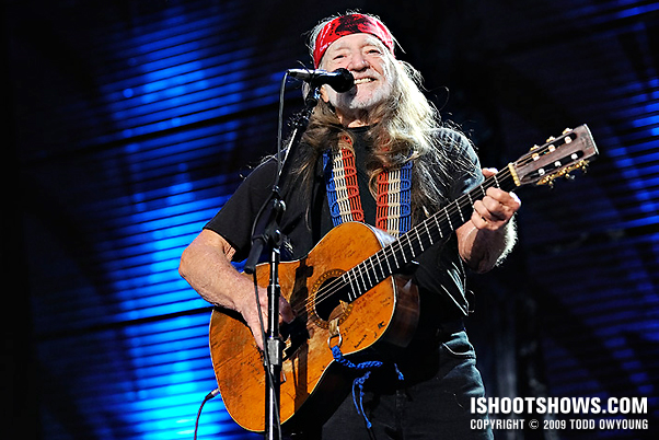 Concert Photos: Willie Nelson, Farm Aid 2009