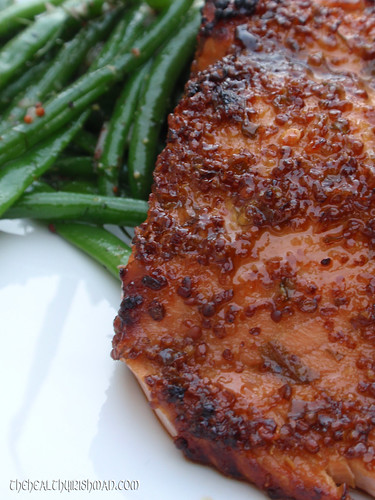 Sesame Salmon w/ Green Beans