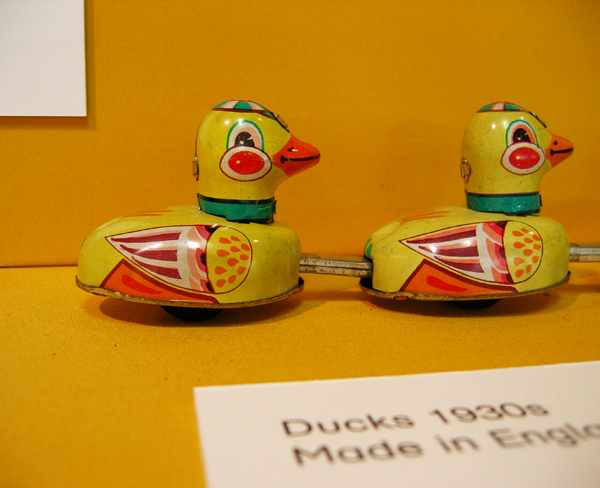 Museum of Chlidhood toy ducks