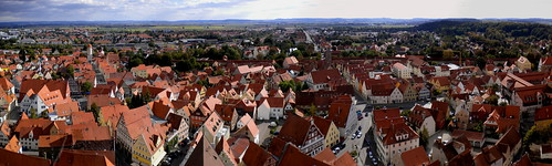 Nordlingen Panorama View