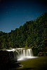 Falls under stary skies (JGo9) Tags: longexposure trees water night forest stars landscape waterfall nikon streak kentucky ky falls clear d60 danielboonenationalforest cumberlandfall