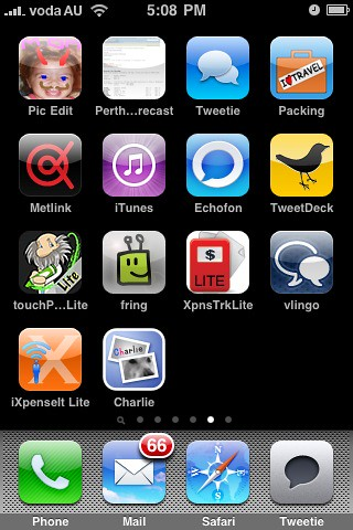 My iPhone Apps - Pg 5 - The graveyard of retired apps.