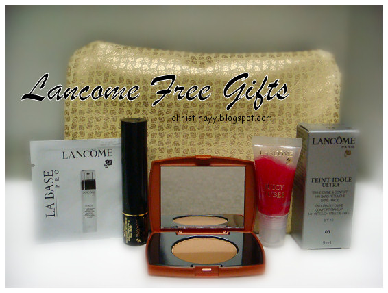 Lancome Free Gifts
