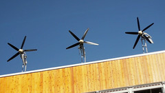 Dockside Green Wind-Powered Turbines