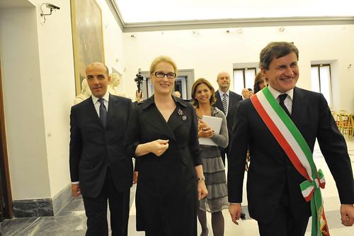 La Lupa Capitolina a Merly Streep