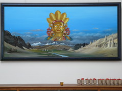 Exposition of painter Nachtegaele, week of Anubhuti (Sint-Katelijne-Waver) Tags: school painting exposition painter himalaya ladakh tentoonstelling katerveire mariaschool nachtegaele berlaarbaan hendriknachtegaele katervere anabhuti