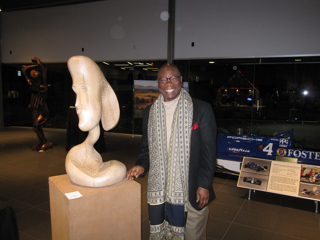 Sculptor Felix Eboigbe