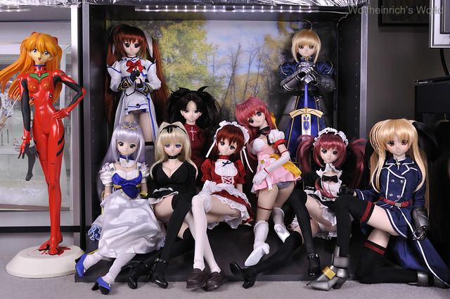 Dollfie Dream Family Photo 2009