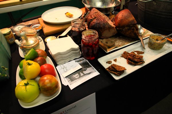 pork pate table