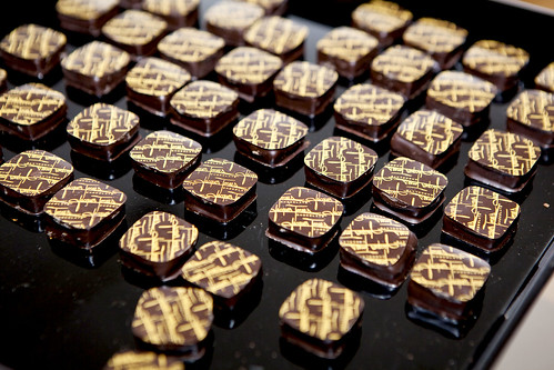 Chocolate bonbons from Jacques Torres