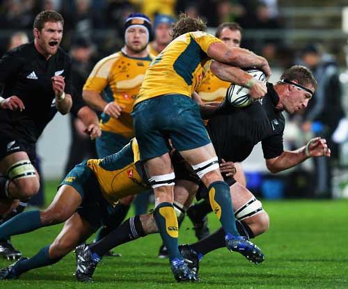 Brad Thorn, decisivo contro l'Australia