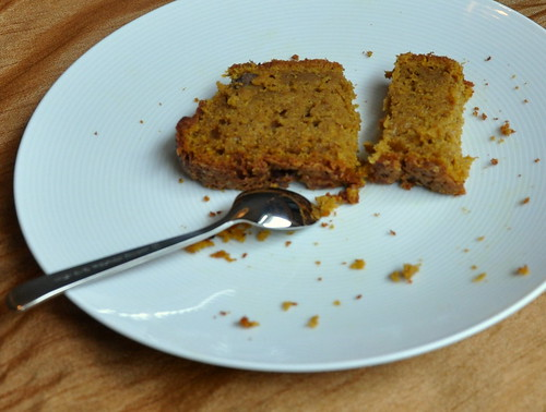 4097588339 cf6ed4329c Pumpkin Tea Cake: I Knew This Would Happen